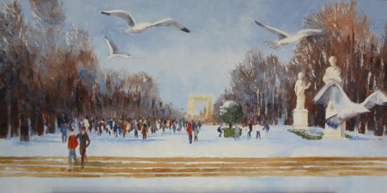 Un dimanche aux Tuileries