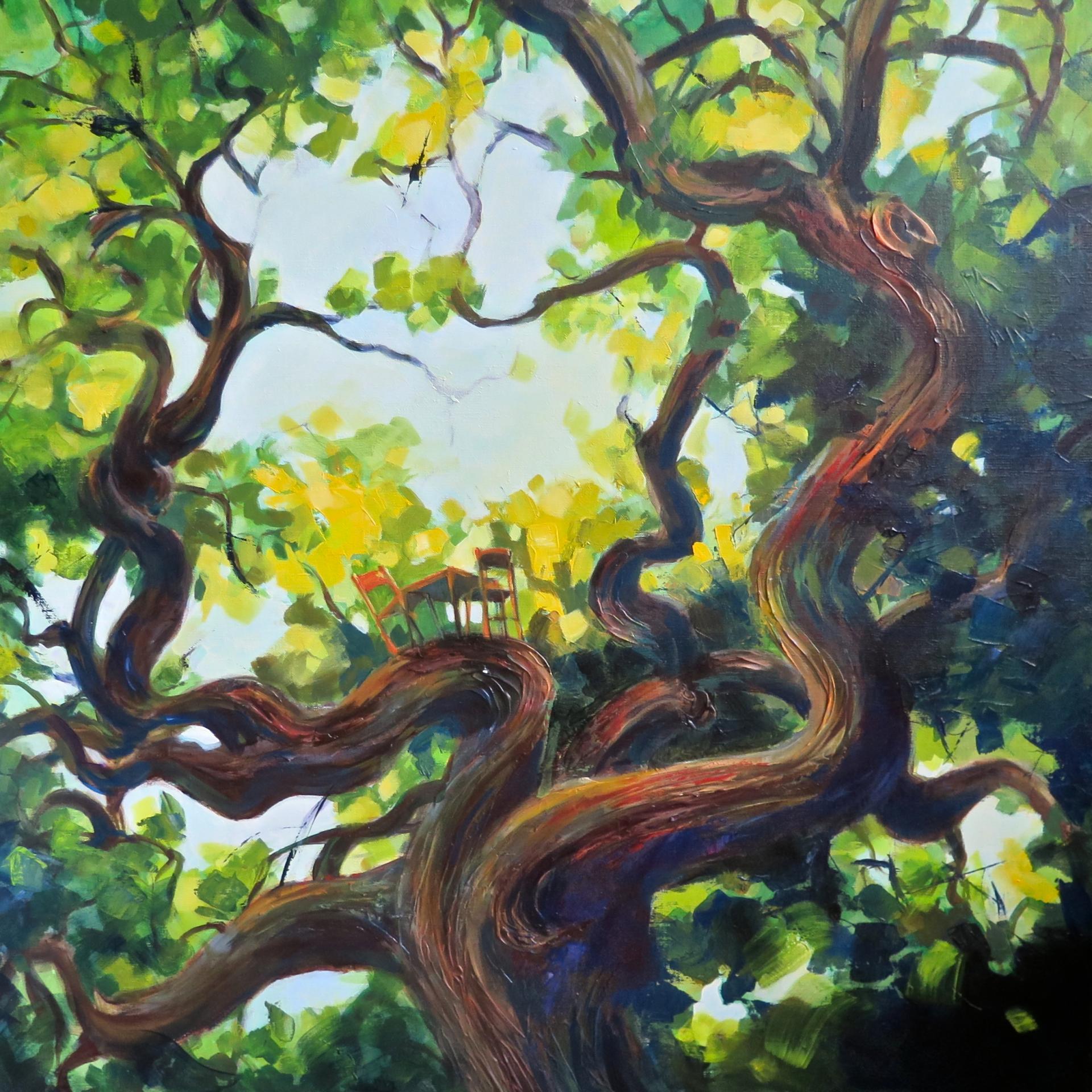 L'arbre à cabane