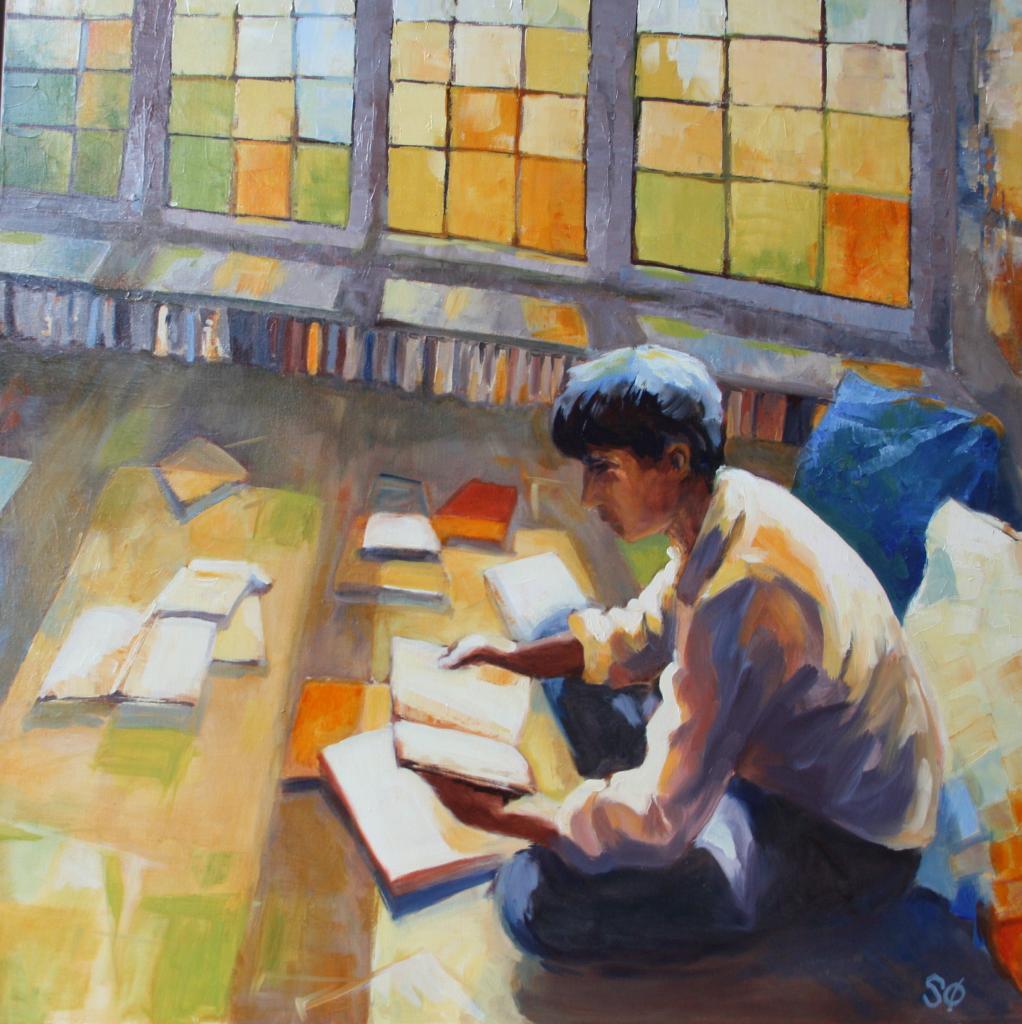 Le lecteur orange