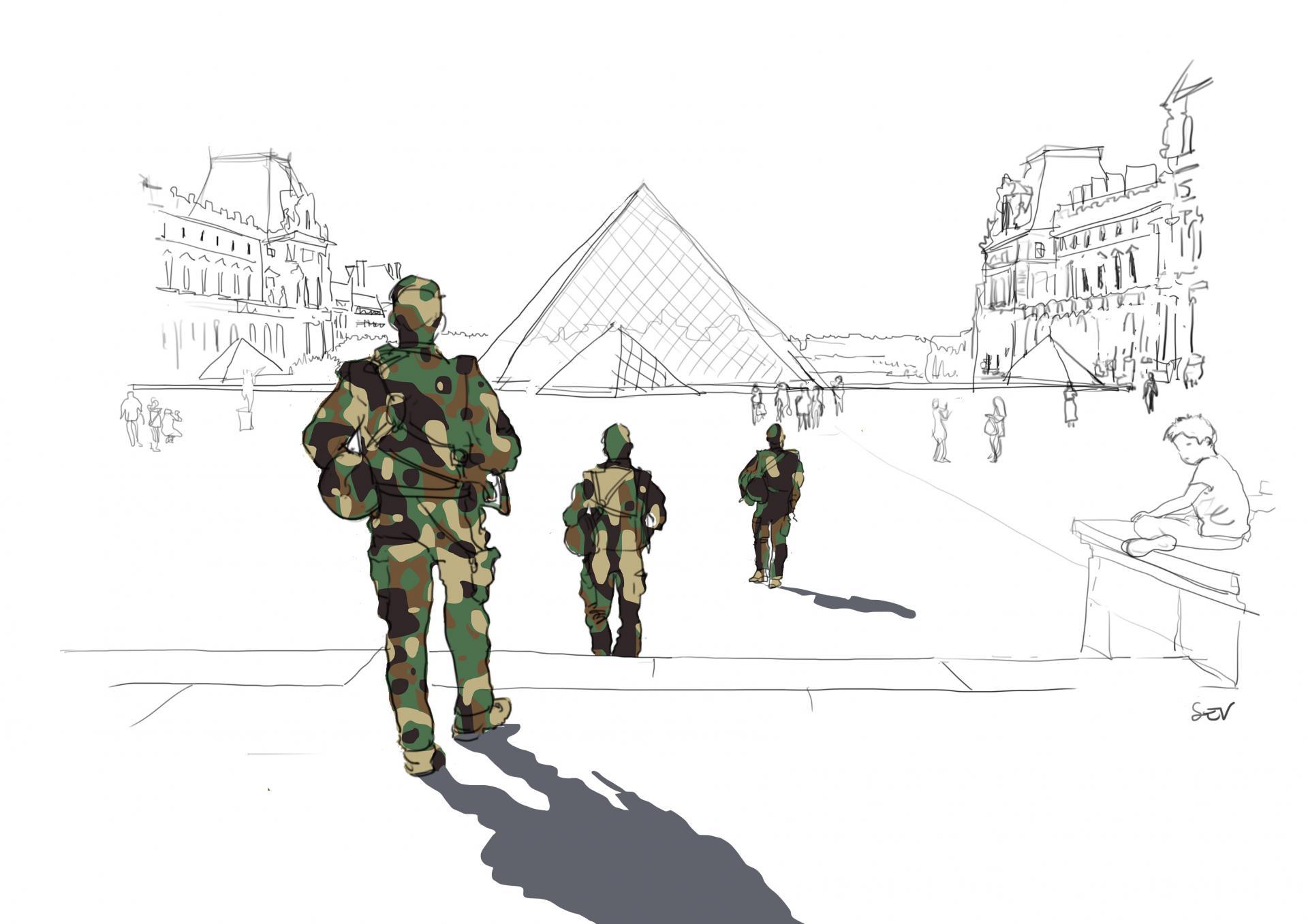 Mai au Louvre